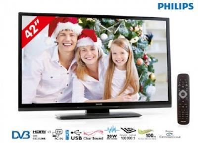 Telewizor LED Full HD Philips 42pfl3207h/12 z Biedronki