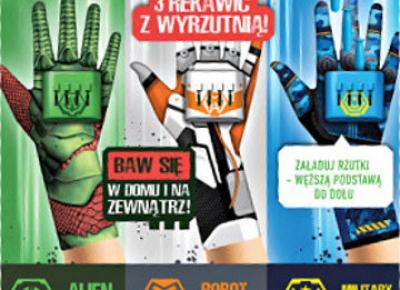 Rękawica Glove Blaster z Biedronki
