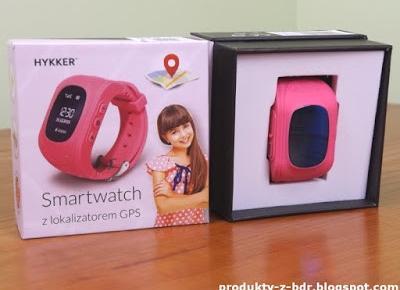 Test: Smartwatch Hykker z lokalizatorem GPS z Biedronki