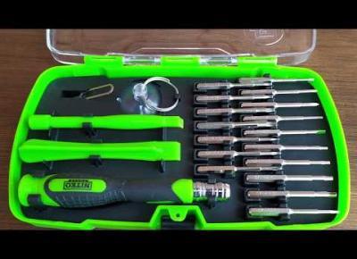 Narzędzia precyzyjne do sprzętu elektronicznego Niteo Tools z Biedronki