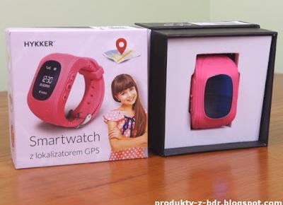 Smartwatch Hykker z lokalizatorem GPS z Biedronki