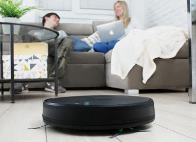 Robot sprzątający smart Hykker Navi Space z Wi-Fi z Biedronki