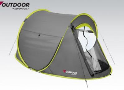 Namiot turystyczny z moskitierą z Biedronki