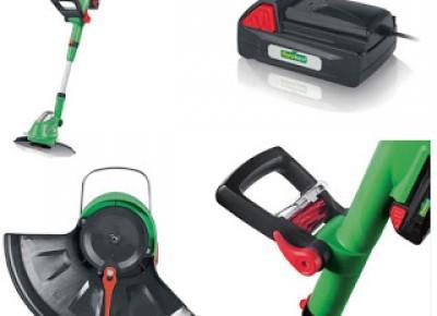 Co w Lidlu: Akumulatorowa podkaszarka do trawy Florabest z Lidla