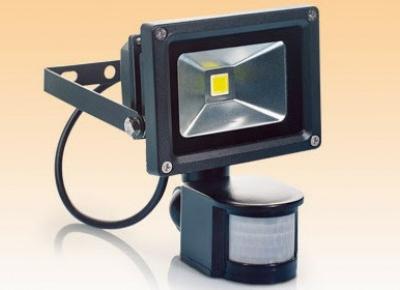 Reflektor LED z czujnikiem ruchu z Biedronki