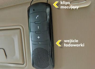 Zestaw głośnomówiący IBOX IFBT08H z Biedronki