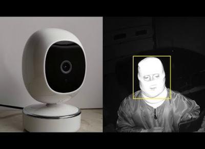 Kamera SimCam 1S z funkcją rozpoznawania twarzy. Test / Recenzja kamery IP Wi-Fi
