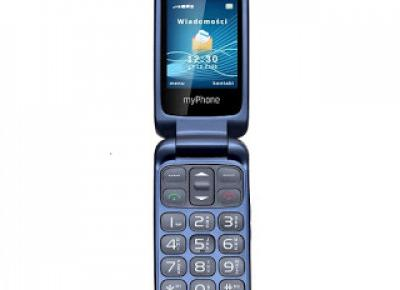 Telefon myPhone FLIP z Biedronki