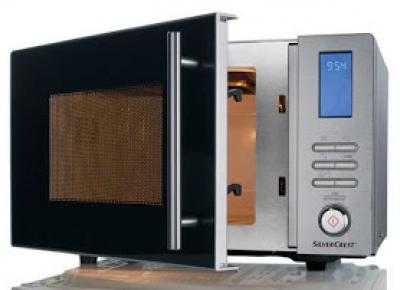 Co w Lidlu: Kuchenka mikrofalowa 1000 W Silvercrest z Lidla