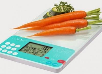 Dietetyczna waga kuchenna Vitammy Light z Biedronki