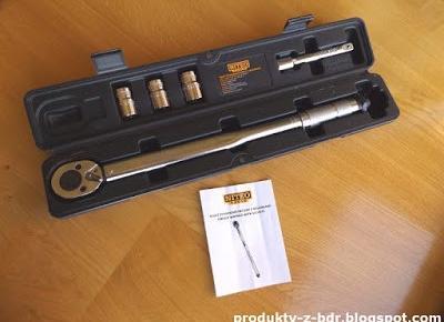 Test: Klucz dynamometryczny z nasadkami Niteo Tools z Biedronki