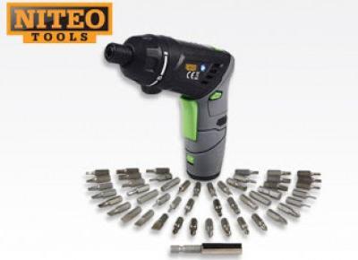 Wkrętak akumulatorowy z latarką Niteo Tools z Biedronki
