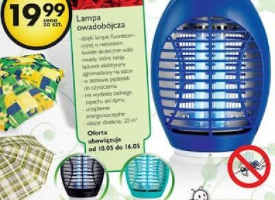 Lampa owadobójcza z Biedronki