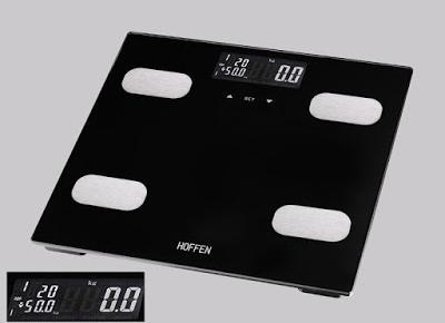 Waga analityczna do pomiaru masy ciała Hoffen BFS-0460 z Biedronki