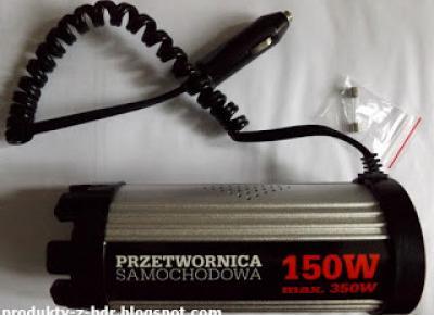 Przetwornica samochodowa 150W z Biedronki