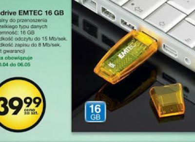 Pendrive EMTEC 16 GB z Biedronki