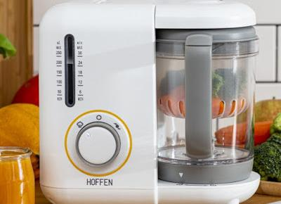 Urządzenie do przygotowywania potraw dla niemowląt Hoffen z Biedronki