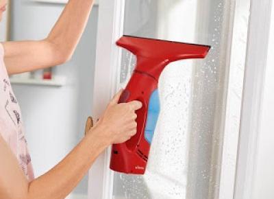 Akumulatorowa myjka do okien Vileda z Lidla