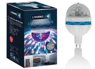 Co w Lidlu: Żarówka LED dyskotekowa LivarnoLux z Lidla