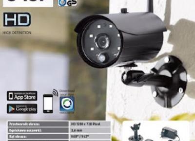 Kamera monitorująca IP z Lidla
