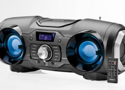 Radioodtwarzacz CD z systemem nagłośnienia stereo Bluetooth® Silvercrest z Lidla