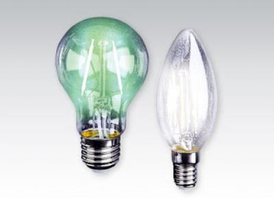 Żarówka LED filament kolor z Biedronki