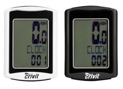 Co w Lidlu: Licznik rowerowy Crivit z Lidla