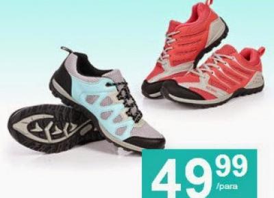 Buty trekkingowe damskie i męskie z Biedronki - test uzdi