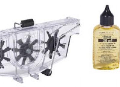 Urządzenie do czyszczenia łańcuchów rowerowych Crivit z Lidla
