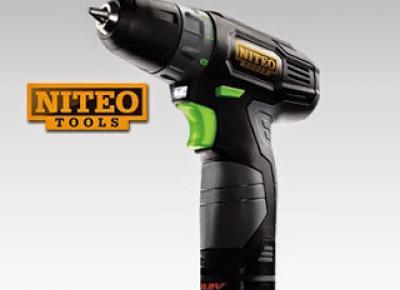 Wiertarko-wkrętarka Niteo Tools 10.8V z Biedronki