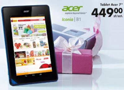 Testujemy produkty z Biedronki: Tablet Acer Iconia B1 z Biedronki