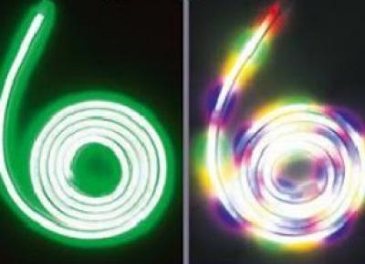 Taśma neon LED z Biedronki
