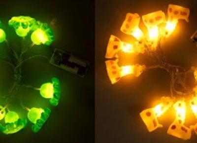 Łańcuch LED dla dzieci z Biedronki