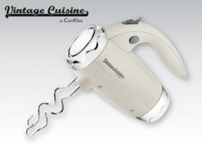 Mikser ręczny Vintage Cuisine by CooKing z Biedronki