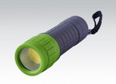 Kolorowa latarka LED z Biedronki
