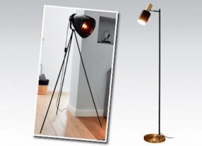 Lampa podłogowa z Biedronki