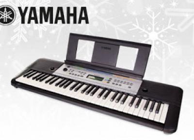 Keyboard Yamaha YPT 255 z Biedronki