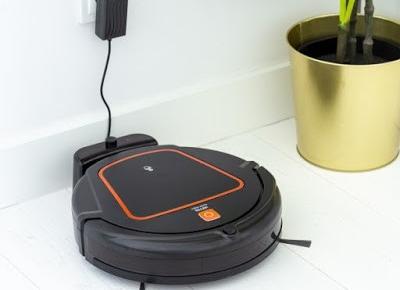 Robot sprzątający z Wi-Fi Hoffen z Biedronki