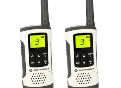 Krótkofalówki Motorola TLKR T50 z Biedronki
