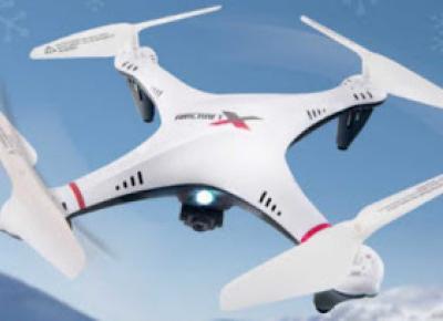 Quadrocopter z kamerą Aircraft X Dron z Biedronki