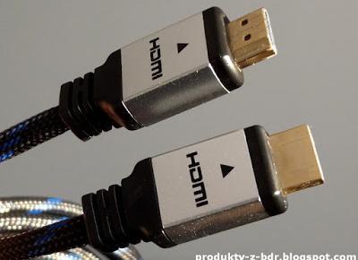 Przewód HDMI z wtykami prostymi Hykker z Biedronki