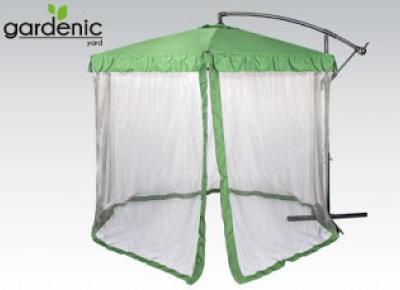 Parasol ogrodowy z moskitierą Gardenic z Biedronki