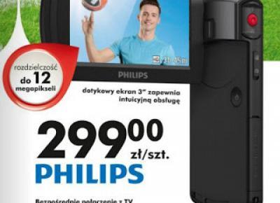 Testujemy produkty z Biedronki: Kamera HD Philips CAM295BL z Biedronki