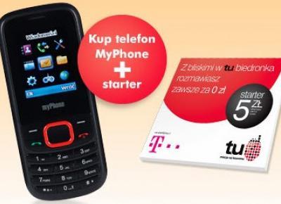 Telefon komórkowy MyPhone 3200 z Biedronki