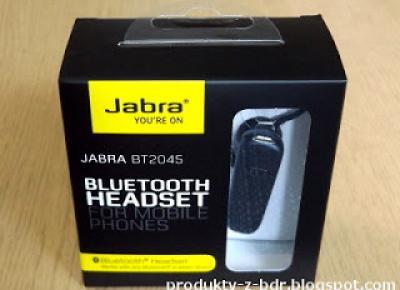 Zestaw słuchawkowy Jabra BT2045 z Biedronki
