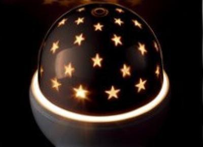 Lampki dla dzieci z projektorem z Biedronki