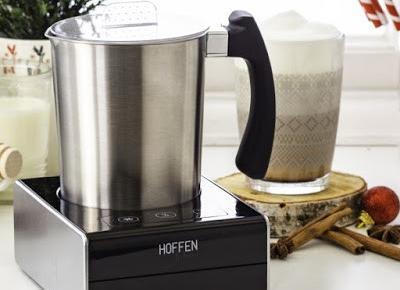 Indukcyjny spieniacz do mleka Hoffen z Biedronki