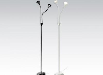 Lampka podłogowa LED podwójna z Biedronki