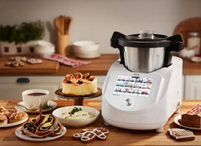Wielofunkcyjny robot kuchenny Hoffen Smart Chef Express 1500 W z Wi-Fi z Biedronki