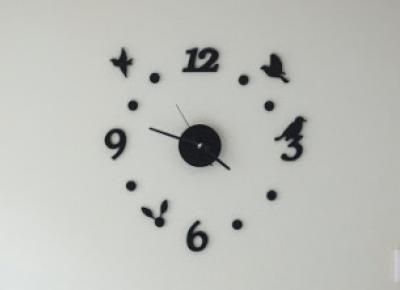 Zegar do samodzielnego montażu Smukee z Biedronki